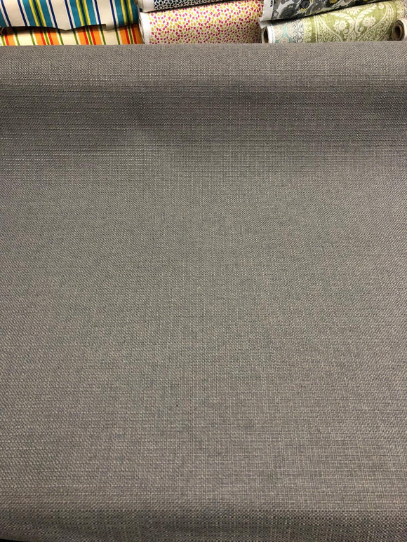 Sampson Gray Chenille Upholstery Fabric Italian cut by the yard sofa