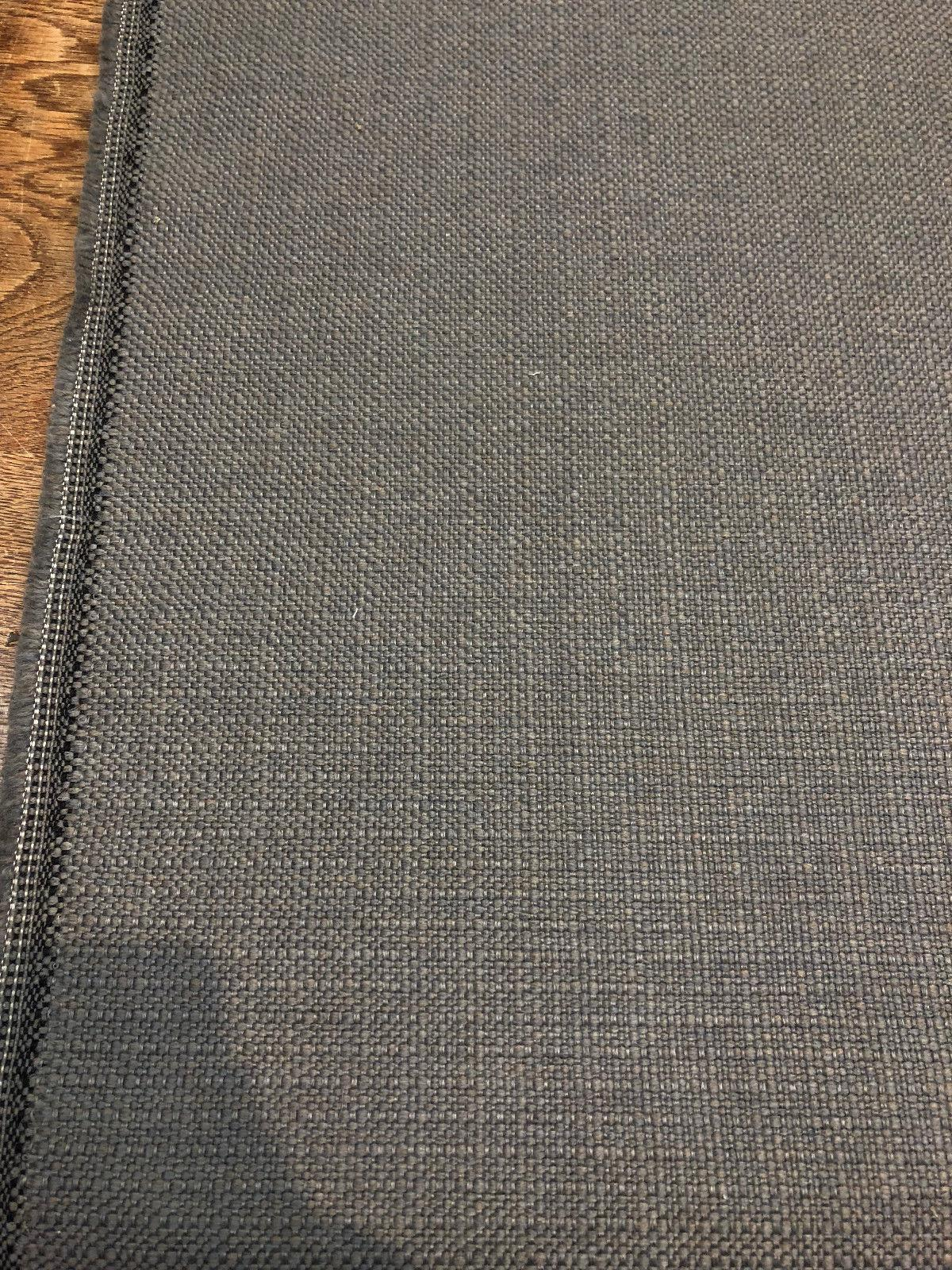 Sampson Gray Chenille Upholstery Fabric Italian Cut By The