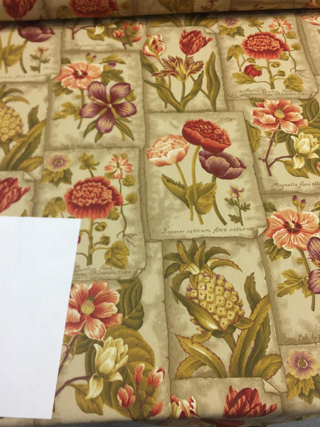 Waverly Botanic Garden In Plantation Mount Vernon collection Fabric by the yard
