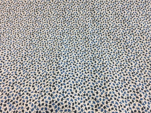 Howards End Indigo Blue Robert Allen Sequence Multipurpose Fabric