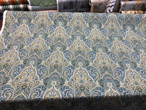 Miquelon Cliffside in Shoreline Mill Creek Swavelle Fabric By The Yard