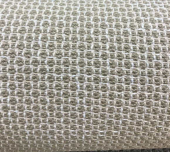 Harlow Putty  Chenille Upholstery Fabric by the yard