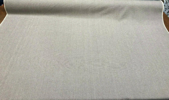 Heather Nickle Gray Preshrunk Cotton Chenille Fabric by the yard