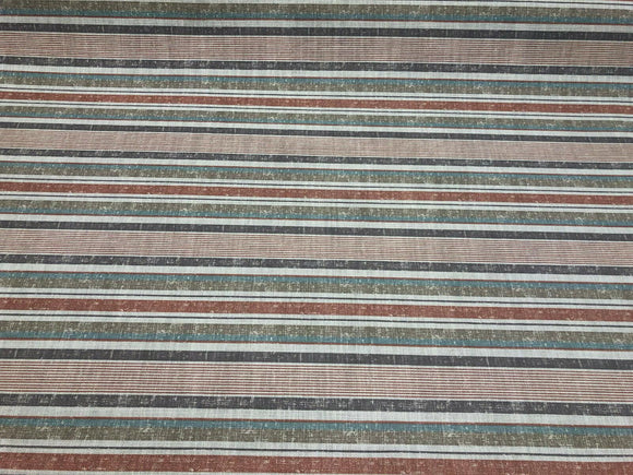 Fabricut Sassi Patina Nautical Stripe Upholstery Fabric By The Yard