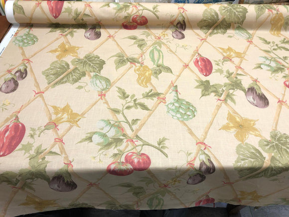 fruit cotton P kaufmann fabric