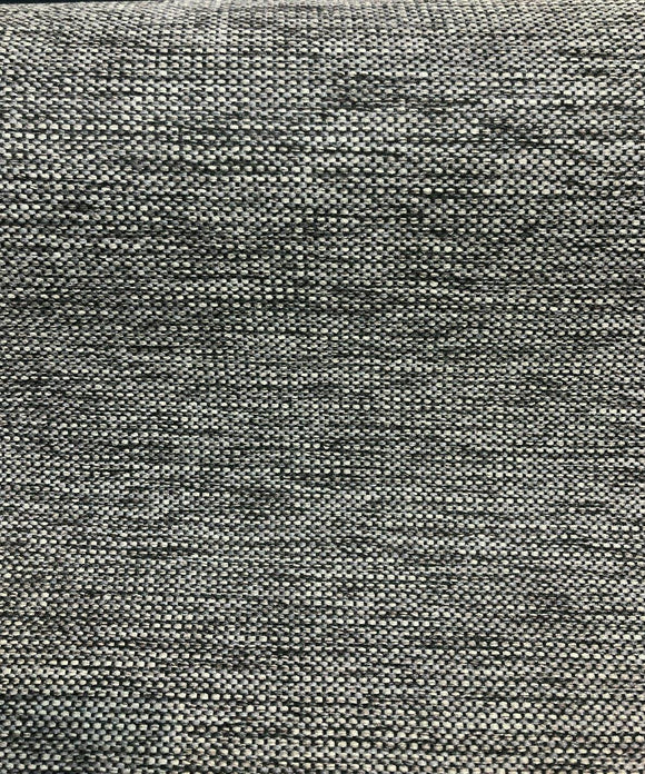 P Kaufmann Eon Graphite Gray Tweed Chenille Upholstery Fabric By The Yard