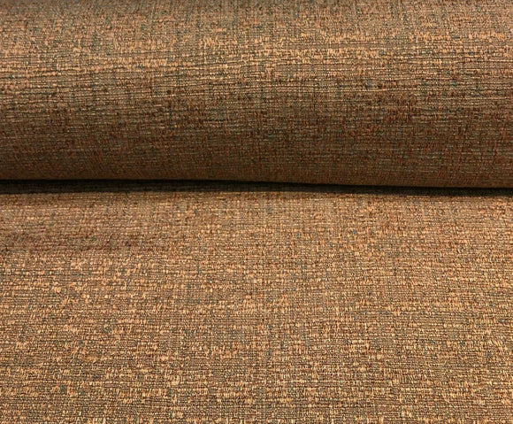 Fabricut Rawhide Copper Slubbed Textured Fabric by the yard