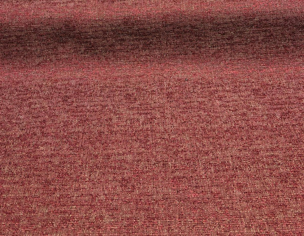 Fabricut Rawhide Monarch Burgundy Red Slubbed Textured Fabric by the yard
