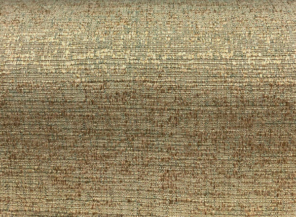 Fabricut Rawhide Brass Slubbed Textured Fabric by the yard