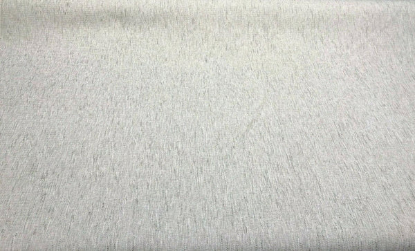 Avenger Pumice White Gray Tweed Soft Chenille Upholstery Fabric by the yard