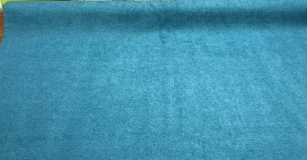 Maxwell Turquoise Soft Upholstery Fabric by the yard