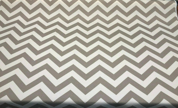 Bryant Indoor Outdoor Palmer Chevron Cobblestone Fabric By the yard