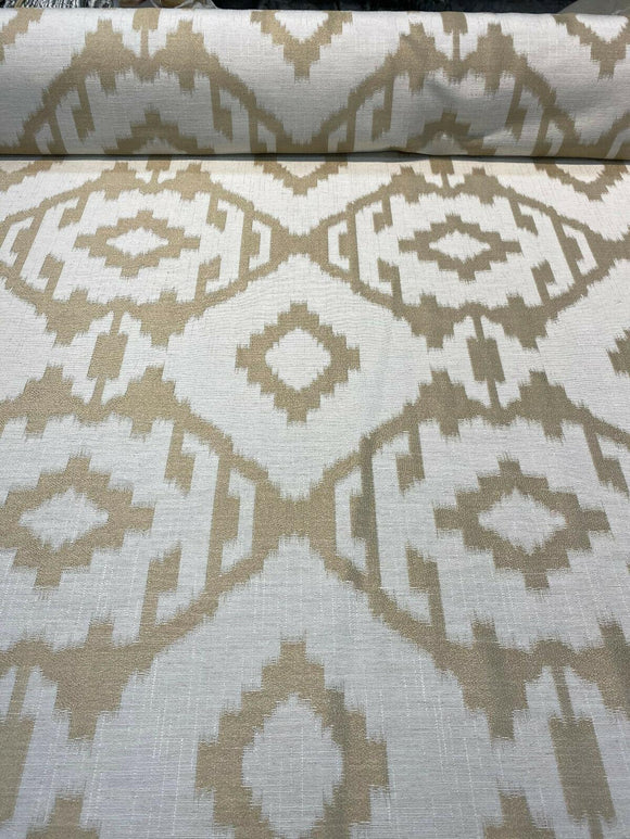 Baylis Aztec Gold Jacquard Designer Fabric By The Yard