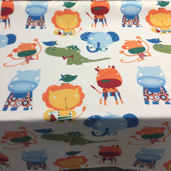 Fabricut Animals monkey alligator Indoor Outdoor Fabric by the yard