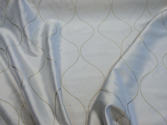 P KAUFMANN Reversible Queens TRELLIS pocket Drapery Fabric 67'' By The Yard