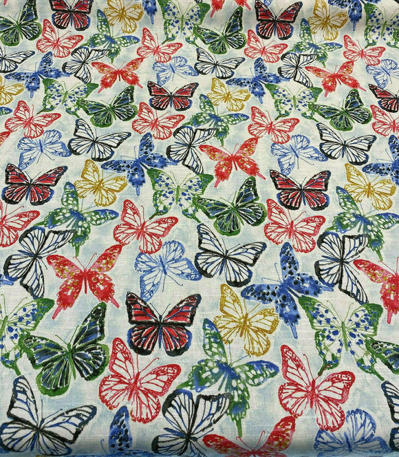 Kelly Ripa Home Social Butterfly Petunia Fabric By the Yard