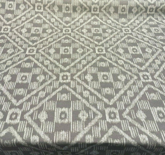 Covington SD Block Island Ikat Gray Dolphin Outdoor Fabric by the yard