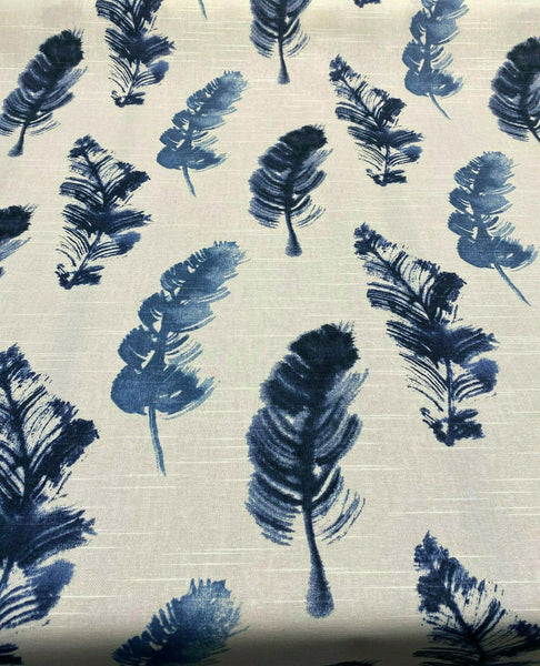 P Kaufmann Feather Fall Indigo Genevieve Gorder Fabric By the Yard