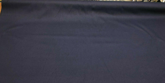 Navy Blue Cotton Duck Canvas 60 inch Fabric by the yard