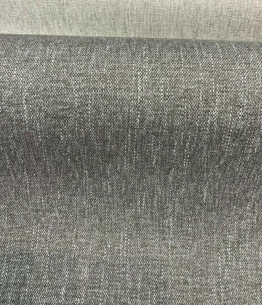 Avenger Gray Dolphin Tweed Soft Chenille Upholstery Fabric by the yard