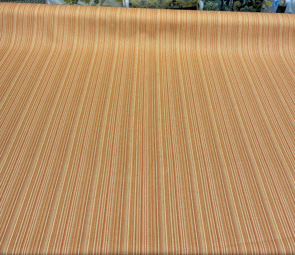 Cozy Up Stripe Persimmon Waverly PK Lifestyles Fabric by the yard