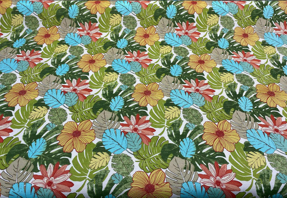 Swavelle Mill Creek Indoor Outdoor Saldiva Caribbean Fabric by the Yard