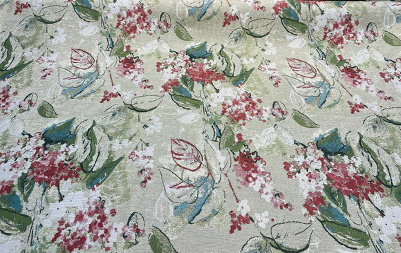 Swavelle Mill Creek Bloomsday Tearose Jacquard Fabric By the yard