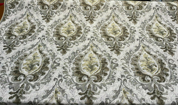 Mill Creek Effervescent Gold Dust Chenille Upholstery Fabric by the yard