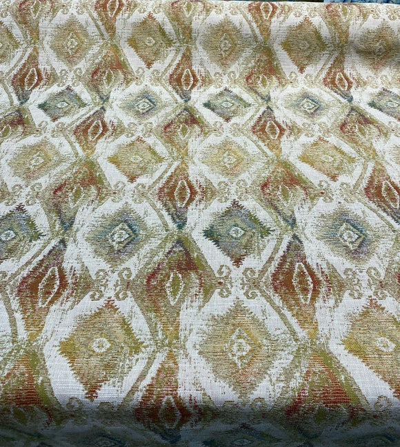Diamond TFA Chenille Thylane Citrine Upholstery Fabric By The Yard