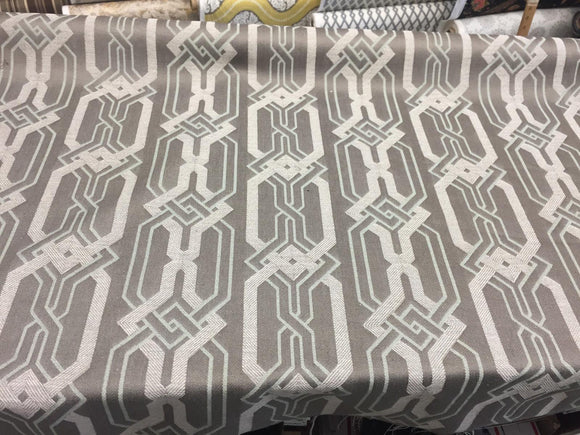 P Kaufmann Swanky Zen geometric linen Fabric by the yard