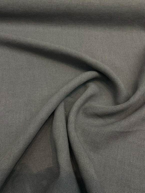 100% Belgian Linen Slate Gray Ventanas Bimitex Fabric By the Yard