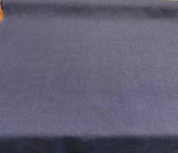 100% Belgian Linen Blue Denim Ventanas Bimitex Fabric By the Yard