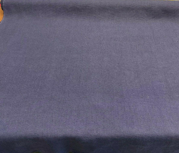 100% Italian Linen Blue Denim Ventanas Bimitex Fabric By the Yard