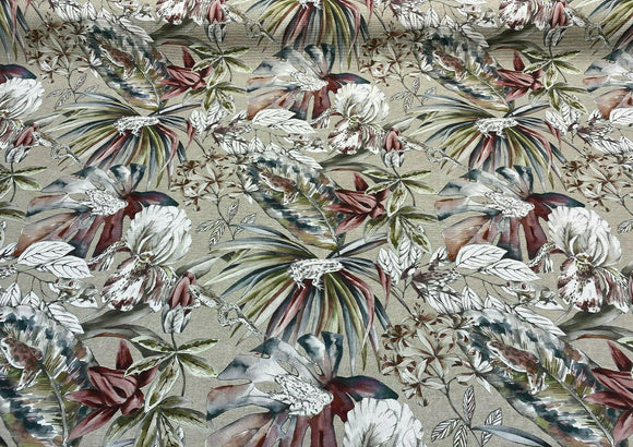 Ainara Frogs Leaves Rainforest Drapery Upholstery Vilber Fabric By The Yard