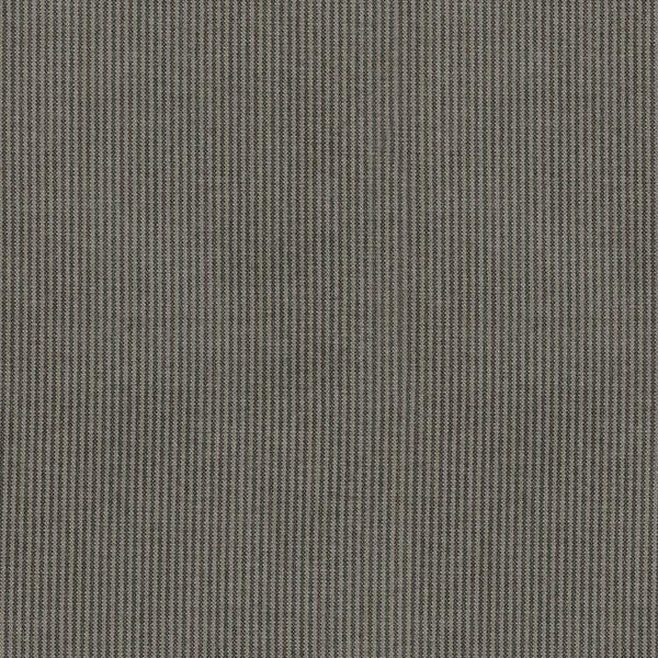 PKL Studio Slim Fit Pinstripe Charcoal Upholstery Drapery Fabric By the Yard
