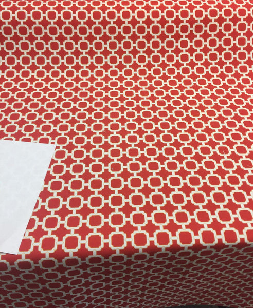 Swavelle / Mill Creek Outdoor Hockley Red multipurpose fabric by the yard