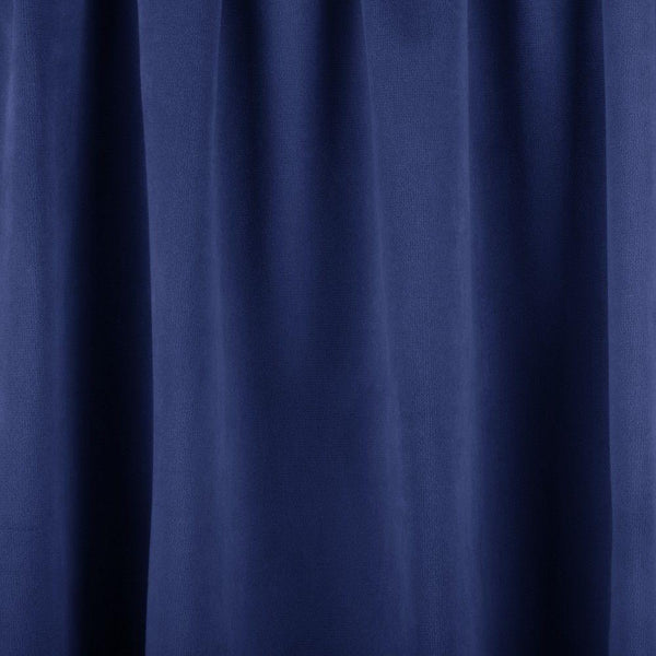 Bermuda Blue Velvet Drapery Upholstery 25 oz Fabric by the yard