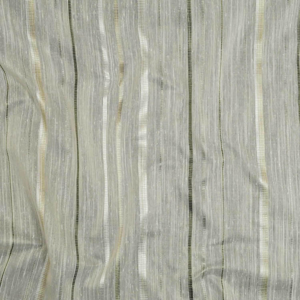 P Kaufmann NFP MAIORI STRIPE Marble  Sheer Drapery 126'' wide  Fabric By the yard
