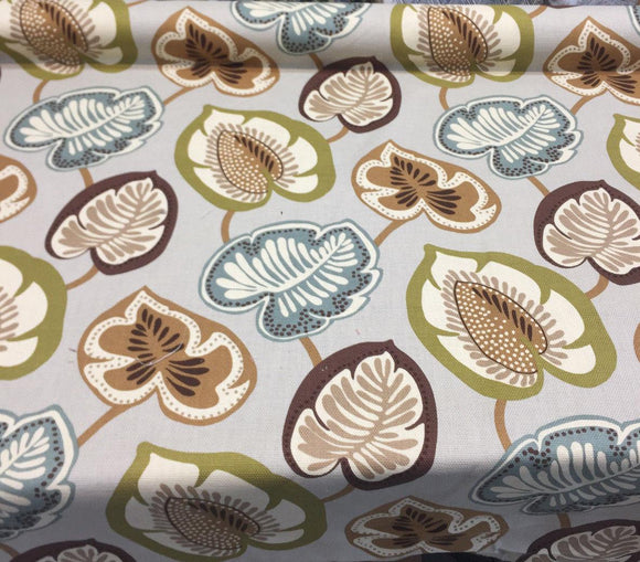 P kaufmann Hosta Celadon Drapery Upholstery Fabric By the yard