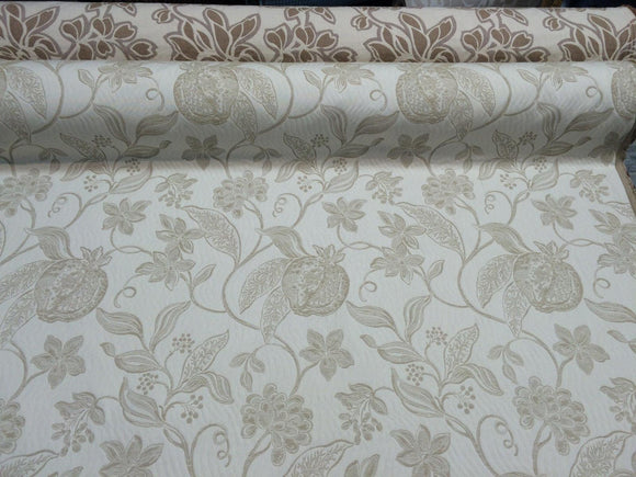 Interpretation Floral Reversible  by Robert Allen Fabric 100% Italian Cotton