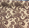Moderna Wine  Fabric Beautiful Chenille upholstery 56'' fabric by the yard sofa