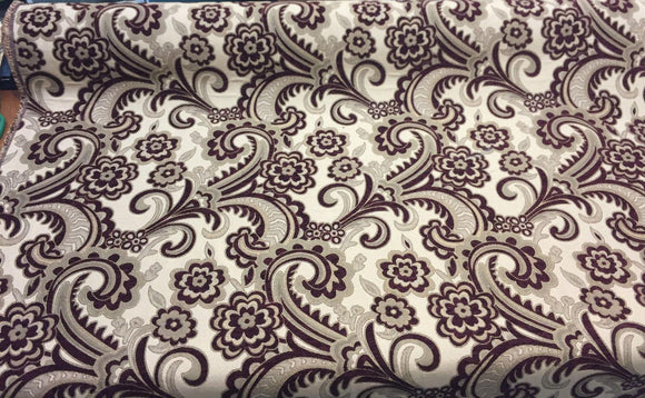 modern wine upholstery fabric