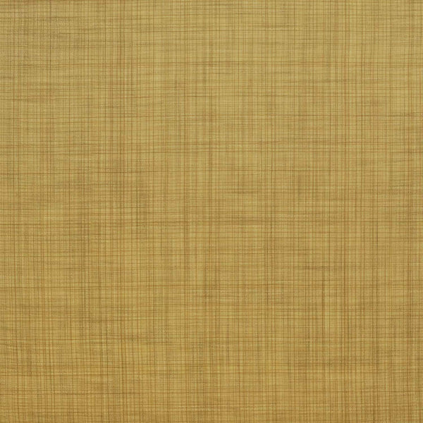 P/K Alena Plaid Tumeric Linen Style Drapery Upholstery Fabric By the yard
