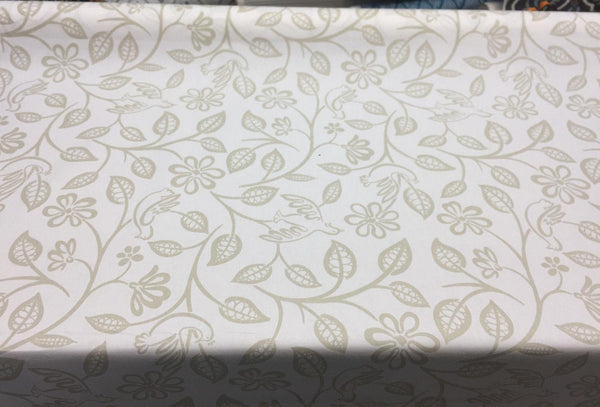Love birds Dove 90 by Covington Fabric Drapery Upholstery By the Yard
