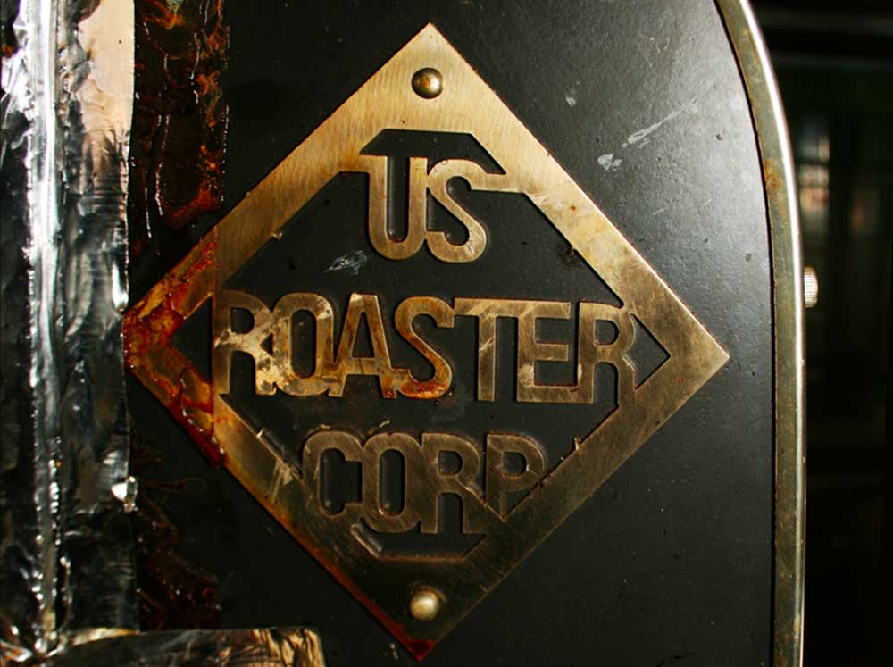 Gold and Iron: US Roast Corp coffee roaster at Hammerhead Coffee Roasters