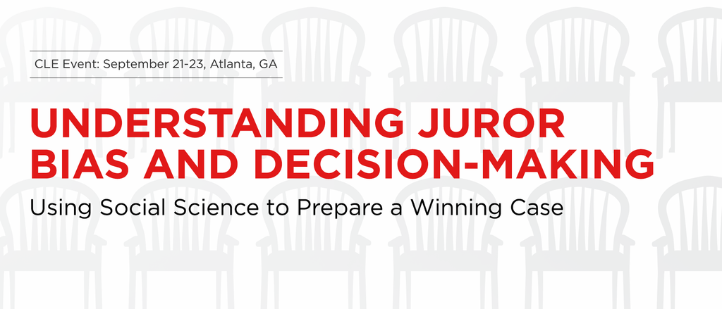 Trial Guides Jury Bias Live CLE Event