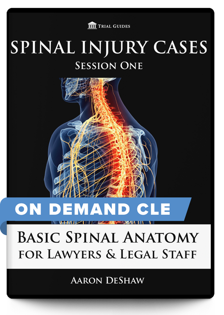 Resources for Spinal Injury Lawyers