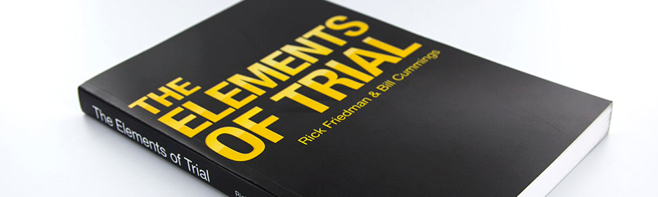 Book Review: The Elements of Trial