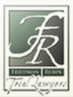 Friedman | Rubin Trial Lawyers logo