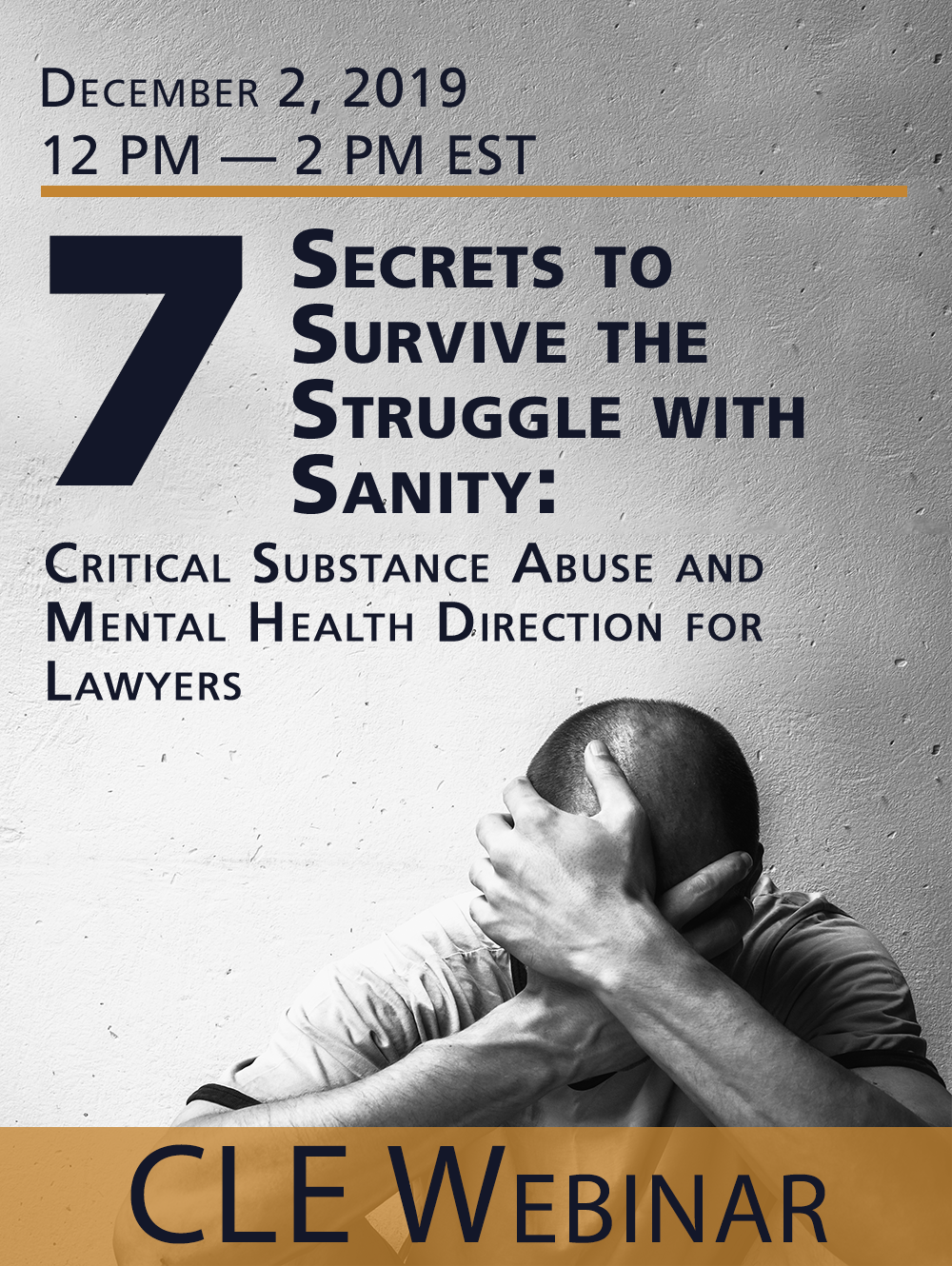 Seven Secrets to Survive the Struggle with Sanity  - Webinar